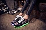 verlichte schoenen