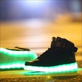 led schoenen zwart