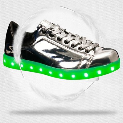 Led schoenen zilver (2)