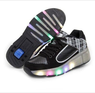 B-keus: Wiel schoenen skate (wit/zwart)