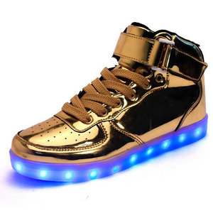 led schoenen party