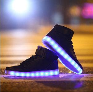 led schoenen hoog model